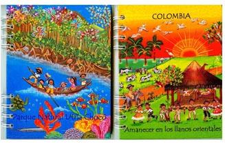 Agendas con temas Colombianos y personalizadas