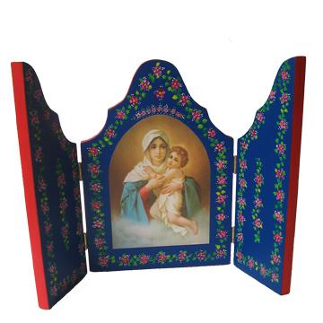Tríptico de la Virgen de Schoenstatt